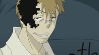 Soul Eater Episode 26 HD - Giriko begins transforming