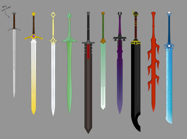 File:Great swords by ronin ink colored by theabyssalsymphony-d5mxeud.jpg