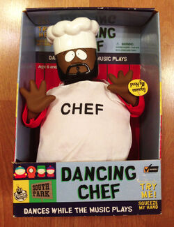 South park singing dancing chef doll