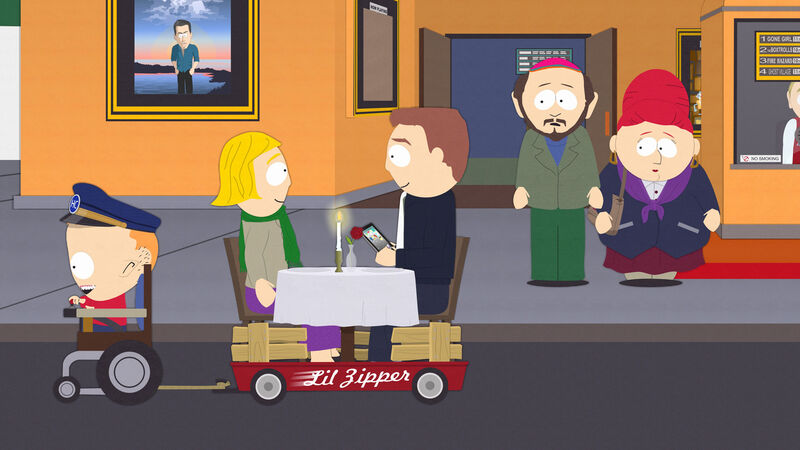 Handicar from South Park.