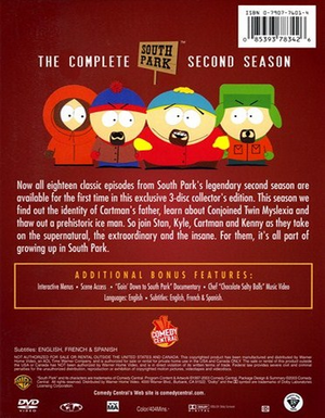 South Park Season 2 - Back