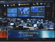 Atlantis Landing Clock