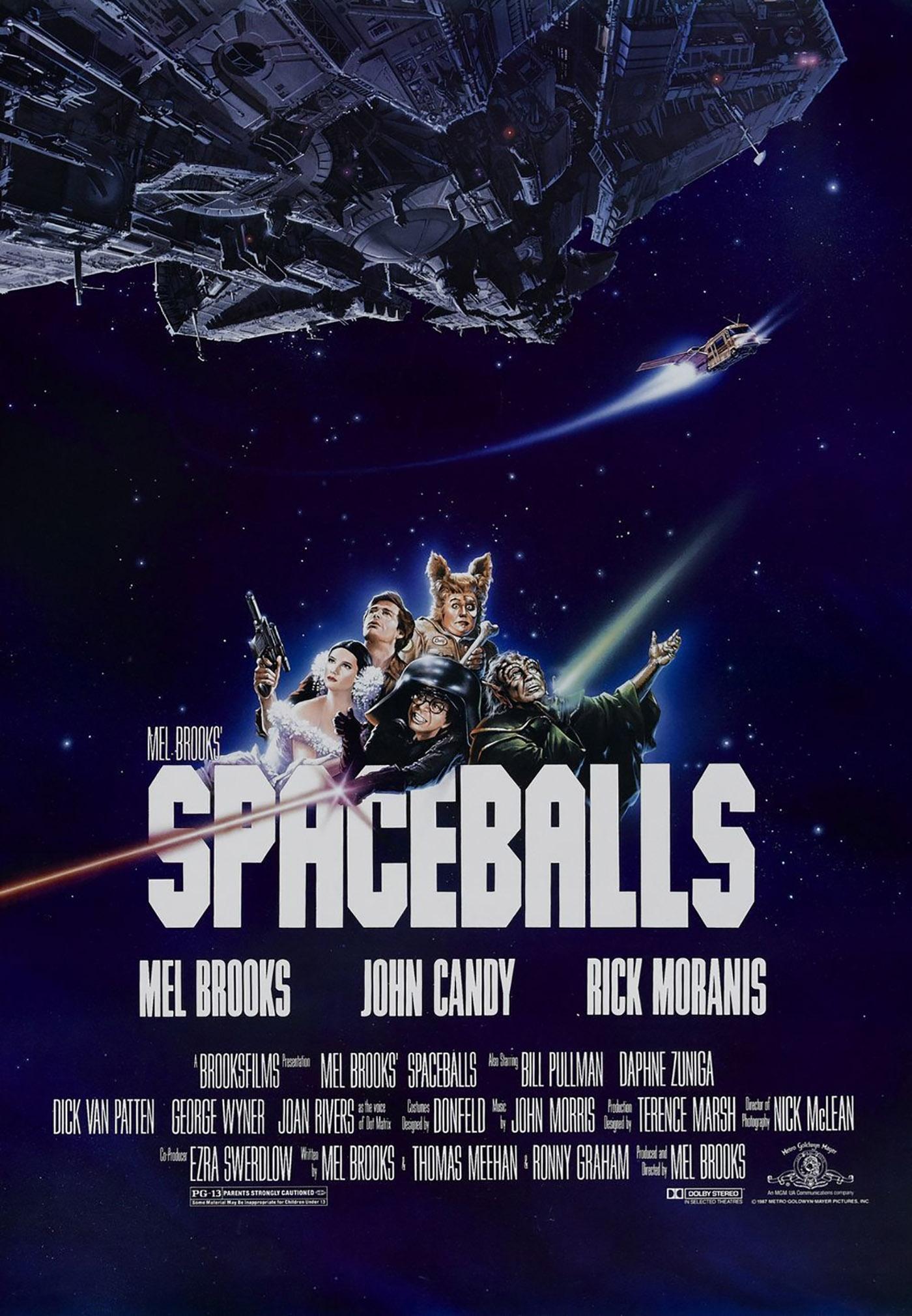 Spaceballs poster