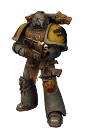 Armor Space Wolves