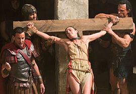 Ilithyia Body Slave Thessela Crucified