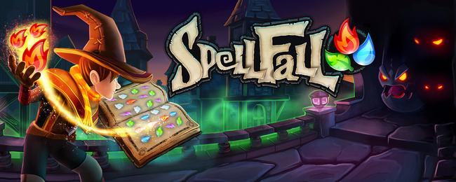 SpellFall Backflip Studios Header