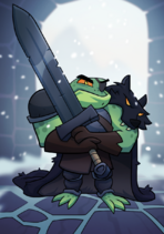 Giant Sword Frog A