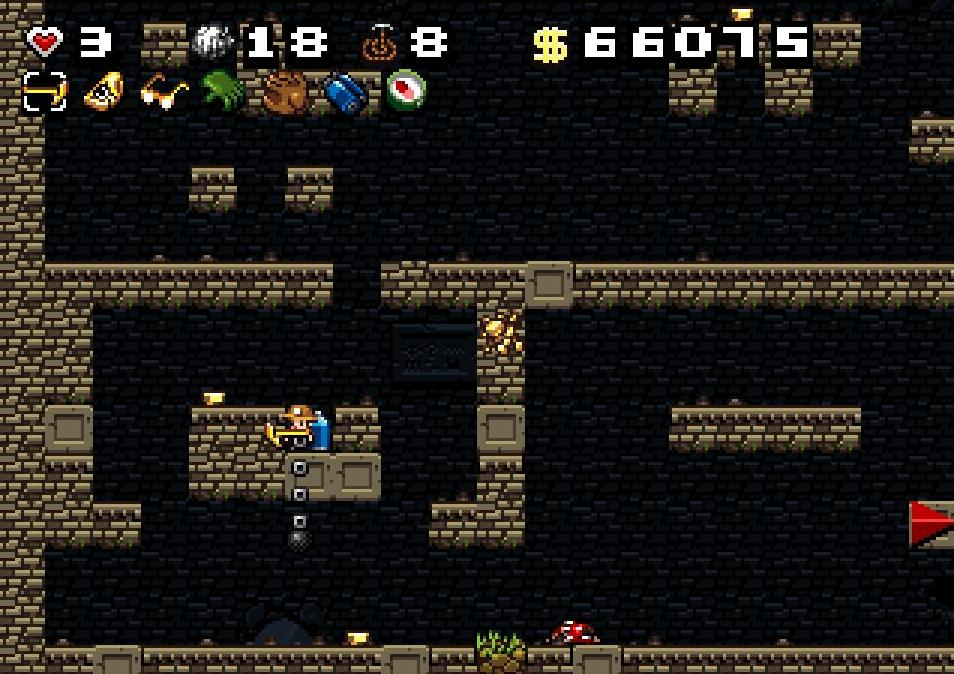 book of the dead spelunky