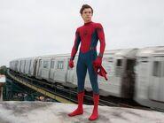 Spider-Man Peter unmasked
