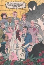 Spider-mans-wedding-peter-parker-marries-mary-jane-watson-203x300
