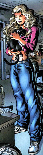 Felicia before becoming the Black Cat