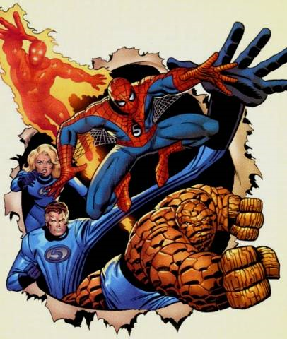 cinco fant225sticos tierra772 spiderman wiki fandom