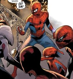 Spider-Army (Peter Parker's) (Multiverse) from Amazing Spider-Man Vol 3 14 001