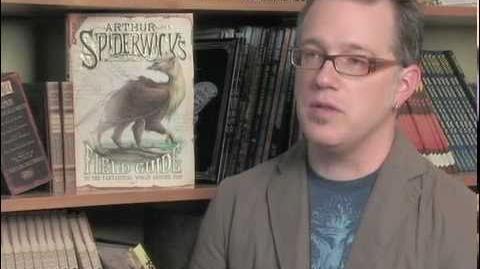 """Tony DiTerlizzi and """"Arthur Spiderwick's Fantastical Field Guide""""-2"""