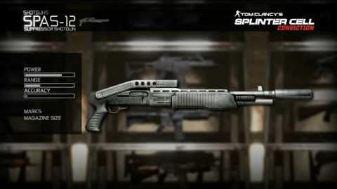 Splinter Cell Conviction - Shotgun Video