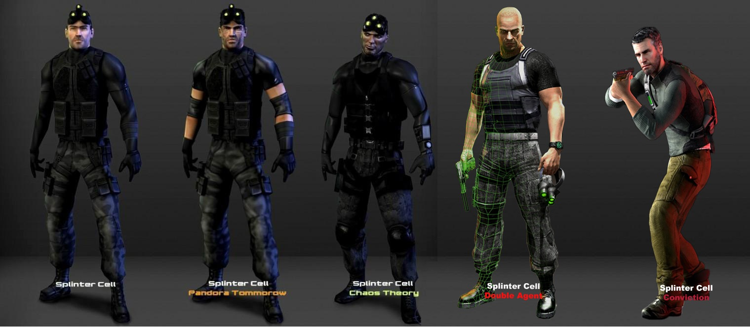 Image evolution of sam fisher by splinter cell wiki fandom powered by wikia - Splinter cell grim ...