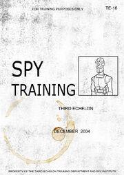 Spy Manual cover