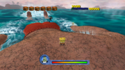 SpongeBob Movie Game Dennis second Boss