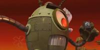 Plankton Giant Robot Ships