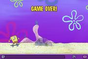 Skater Sponge Game Over