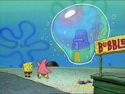 Spongebob, Patrick, & Squidward's House In 1 Bubble