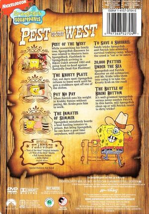 Pest of the West DVD Back Cover