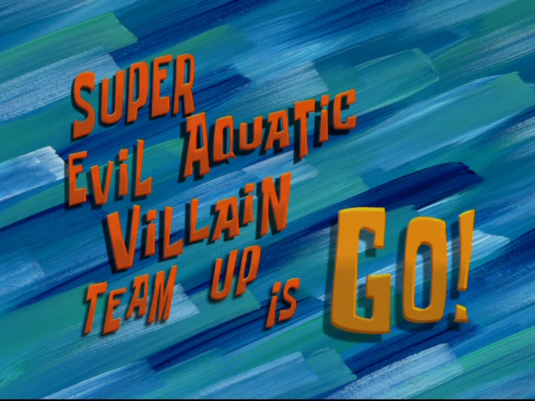 super evil aquatic villain team up is go encyclopedia