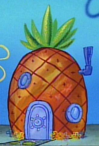 File:SpongeBob's pineapple house in Season 1-2.png