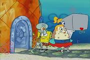 Strangler squidwardleavehappy