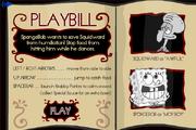 Dancin' Tentacles - Playbill