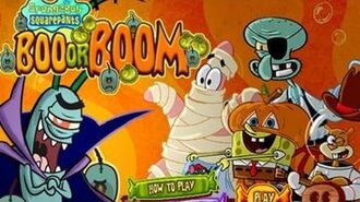 SpongeBob SquarePants Boo or BOOM - Nickelodeon Games