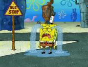 Spongebob cray long time
