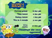 Match 1 Done