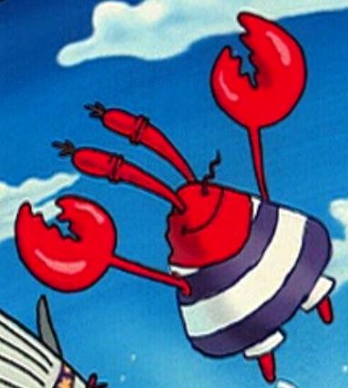 File:Mr. Krabs Wearing a Swim Suit.png