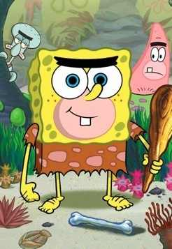 Spongebob cave men