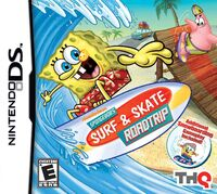 SpongeBob's Surf & Skate Roadtrip DS cover