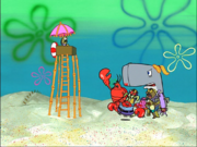 Larry in Bubble Buddy-10