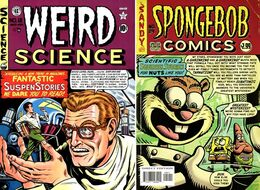 Weird Science 12 - SpongeBob Comics 29 mini