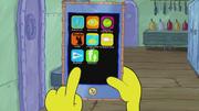 SpongeBob Checks His Snapper Chat 05