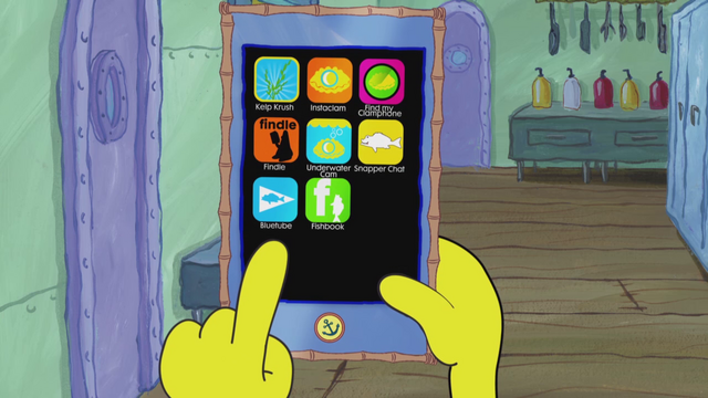 File:SpongeBob Checks His Snapper Chat 05.png