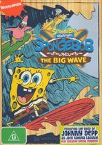 SpongeBob and the Big Wave Australian DVD