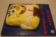 Spongebob cake (2)