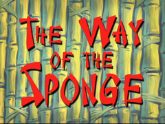 The Way of The Sponge