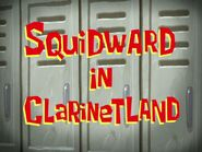 Squidward in Clarinetland