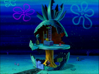 SpongeBob's pineapple house in Season 2-7