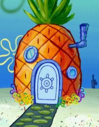 SpongeBob's pineapple house in Season 6-2