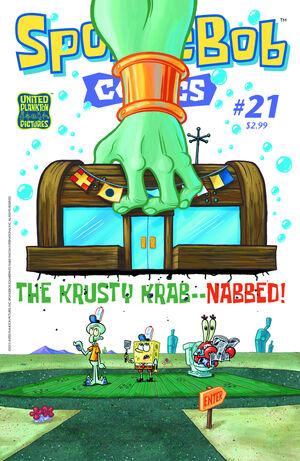 SpongeBobComicsNo21