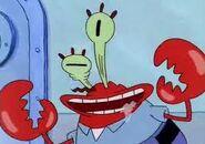 Eek!It's Mr.Krabs!