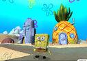 3d Spongebob, His 3d Pineapple, 3d Patrick's 3d Rock, & 3d Squidward's 3d Moai