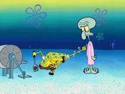 Restraining SpongeBob 016